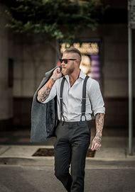 Men's Suit Suspenders