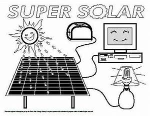 solar energy coloring pages pictures to pin on pinterest With solar wind diagram