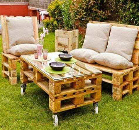 Outdoor Furniture Made With Pallets [peenmediacom]
