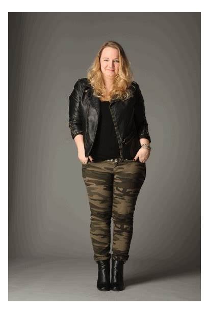 Pants Camo Mitchell Mrs Plus Leather Curvy