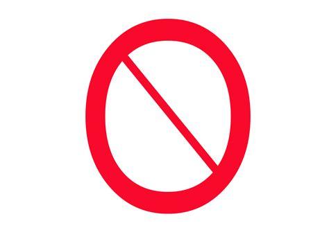 Universal 'no' Symbol At Dvinfo.net