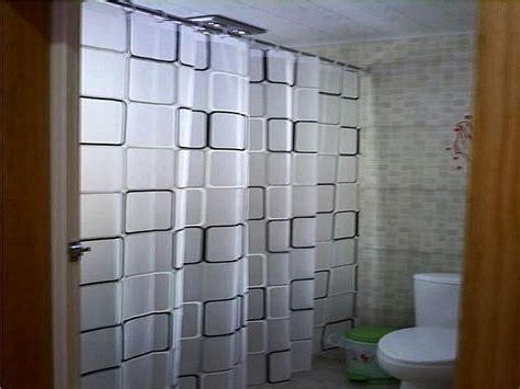 bathroom shower curtains ideas 15 elegant bathroom shower curtain ideas home and gardening ideas