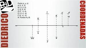 Representaci U00f3n De Puntos Por Coordenadas  Sistema Di U00e9drico