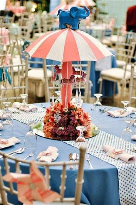picture  funny centerpiece  handmade carousel