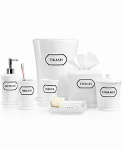 martha stewart collection porcelain words frame bath With martha stewart bathroom accessories