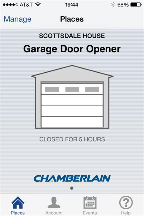 garage door opener with app chamberlain garage door opener review the construction