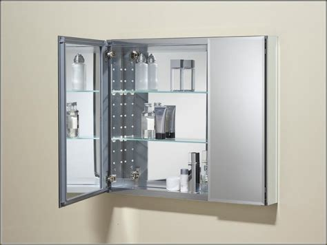 lighting above wall mounted medicine cabinet the homy