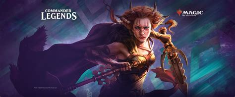 New Commander Legends Magic: The Gathering Rare Cards ...