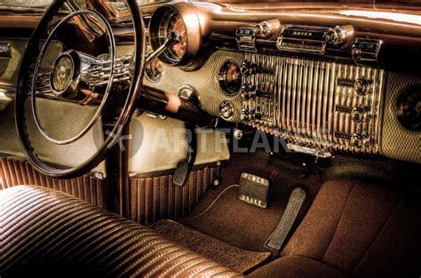 classic car interiors quot classic car interior quot picture prints and posters by