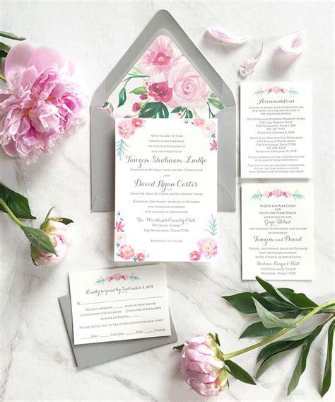 Custom Invitations Unique Wedding Invitations 100%