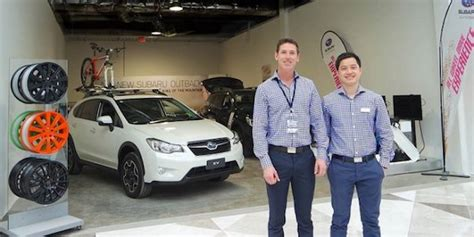 now you can buy a subaru crosstrek at the mall they re popping up in australia torque news