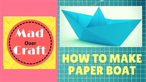 How To Make A Paper Boat That Floats And Holds Weight Step By Step by How To Make A Paper Boat That Floats Origami Tutorial