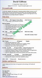 Format For Curriculum Vitae Sample Good And Bad Good Cv Job Resume Samples Good Resume