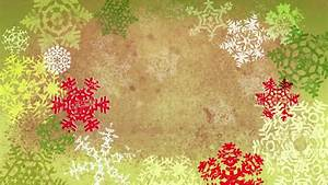 Grunge Textured Christmas Snowflakes Background Loop ...