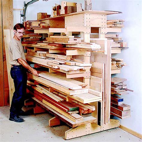modular lumber rack woodworking plan  wood magazine