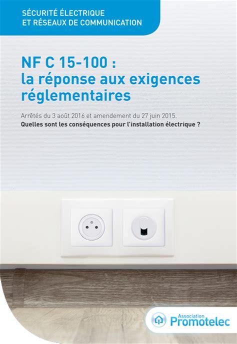 nfc 15 100 cuisine salle de bains que prévoit la norme nf c 15 100