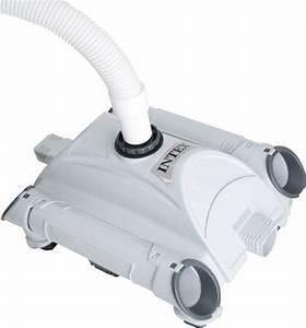 Robot Pour Piscine Hors Sol : intex robot nettoyeur de fond automatique robot piscine ~ Dailycaller-alerts.com Idées de Décoration