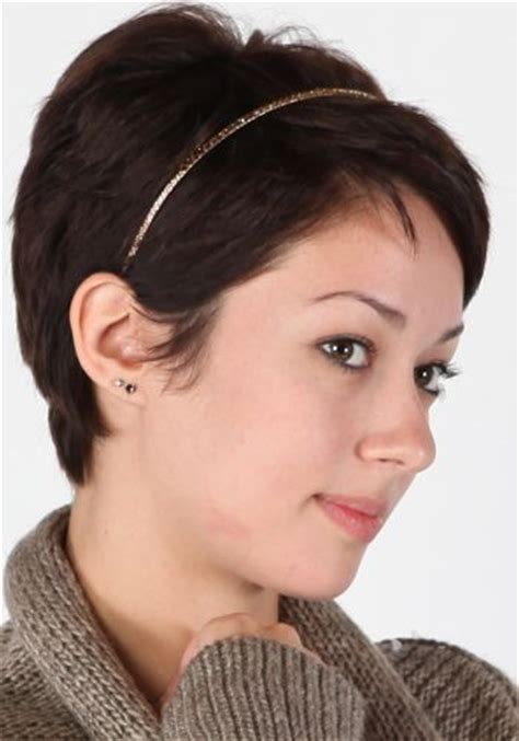 images  headband hairstyles  short hair