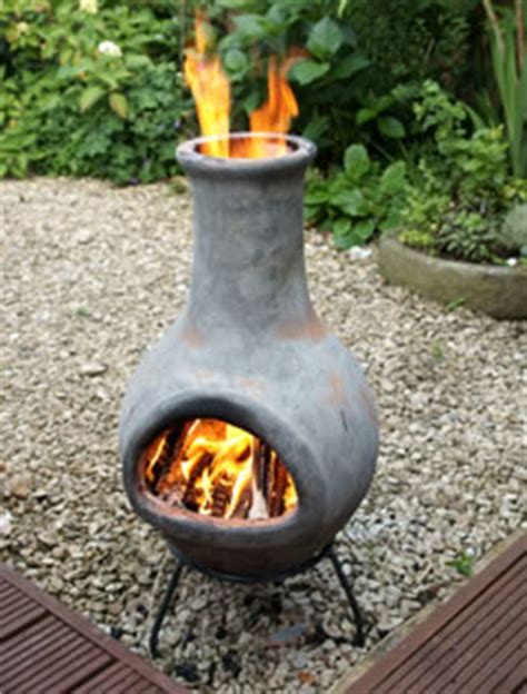 curing chiminea curing a clay chimenea garden4less uk leading
