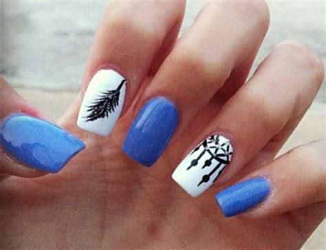 amazing summer blue nail art designs ideas trends