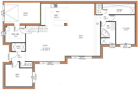 bureau de maison design cuisine plan maison design plan maison méditerranéenne