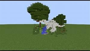 Tutorial: Minecraft Spinosaurus Skeleton - YouTube