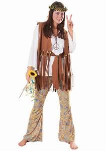 Adult Hippie Love Child Costume - Female Hippie Halloween Costumes