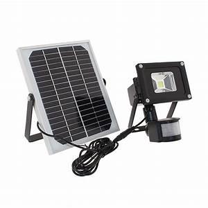 Projecteur à Led : projecteur solaire puissant 10 w led zs 11 1000 lumens multi rechargements projecteurs ~ Melissatoandfro.com Idées de Décoration