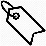 Tag Label Icon Company Discount Icons Line