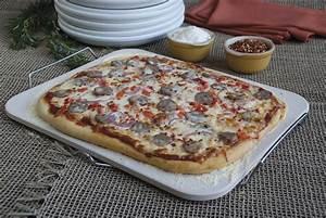 Pierre à Pizza Pour Four : pierre pizza pain rectangulaire en c ramique avec support ~ Dailycaller-alerts.com Idées de Décoration
