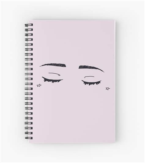 aesthetic drawing spiral notebook  marcomeatball