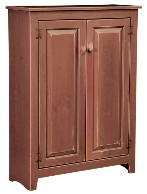 Amish Jelly Cupboard amish large pine wood jelly cupboard