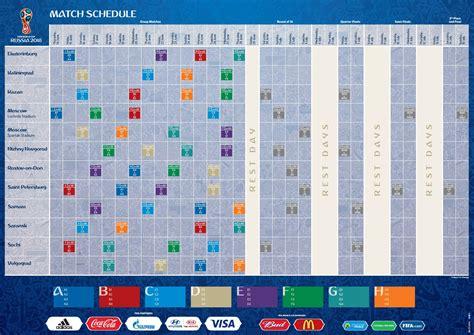 russia  il calendario delle partite