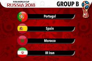 FIFA World Cup 2018: All 8 Groups From A To H   FWC ...