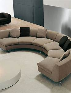 1703 best sofas futons images on pinterest canapes With curved sectional sofa for small space