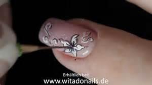 fingernã gel design selber machen nailart filigrane muster nageldesign ganz einfach mit witadonails pinseln