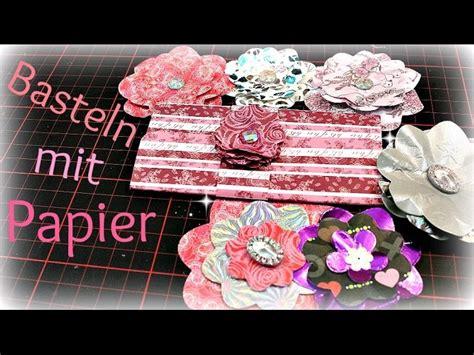 diy inspiration basteln basteln mit papier papierblumen basteln diy inspiration ideen zum selbermachen anleitung