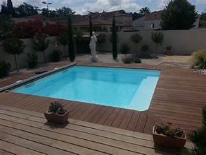 Photo D Amenagement Piscine : am nager sa piscine coque polyester piscine polyester ~ Premium-room.com Idées de Décoration
