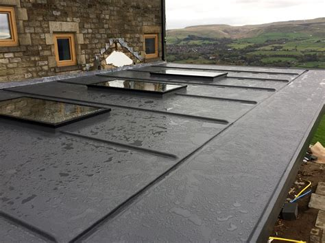 grp fibreglass flat roofs tm roofing services  rochdale manchester tm roofing service
