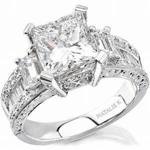 princess cut engagement rings princess cut engagement With wedding rings under 1500