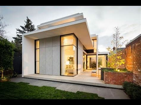 small modern floor plans modern house design with style facade built in