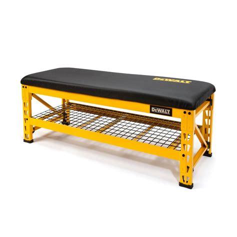 dewalt            garage bench