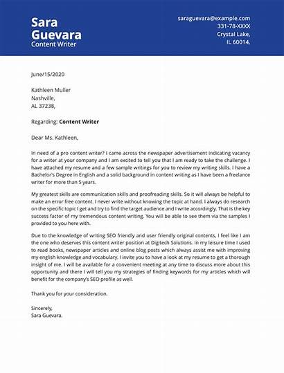 Letter Writer Example Sample Dear Examples Template