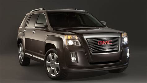 gmc terrain denali black big car