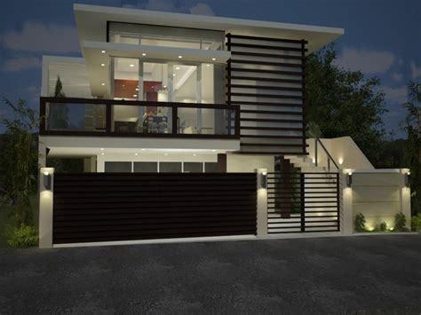 modern minimalist house fence design trend    ideas