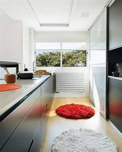 tapis cuisine decoration parfaite pour votre espace 22 idees With tapis pour cuisine