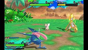 1080p No Outlines Pokémon Sun & Moon Demo Gameplay: Island ...
