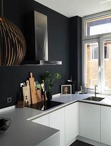 Schwarze Möbel Welche Wandfarbe : dunkelgraue wandfarbe awesome winsome modernes haus wandfarbe schwarzes schwarze und graue bett ~ Bigdaddyawards.com Haus und Dekorationen