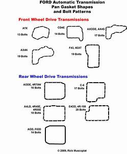 Identify Transmission Ford  U2014 Ricks Free Auto Repair Advice