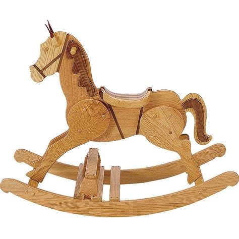 woodworking project paper plan  build large rocking horse rocking horse plans rocking horse
